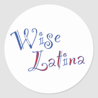 Wise Latina Sticker (PR)