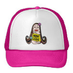 Wise Latina Woman Trucker Hat