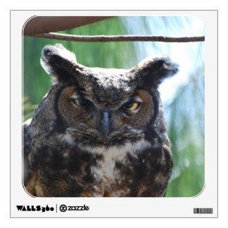 Wise Long Eared Owl Room Sticker