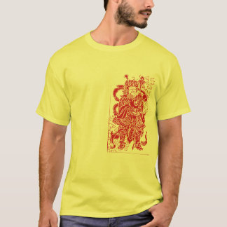 Wise Man on yellow T-Shirt