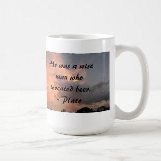 Wise Man Plato Mug
