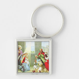 Wise Men At The Nativity Keychain