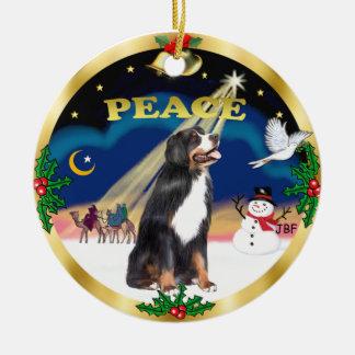 Wise Men - Bernese Mountain Dog Ceramic Ornament