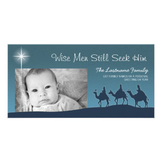 Wise Men - Christmas Holiday Photo Card