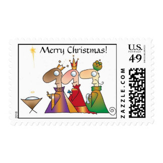 WISE MEN CHRISTMAS Stamps by April McCallum