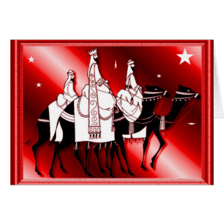 Wise men follow the star red card
