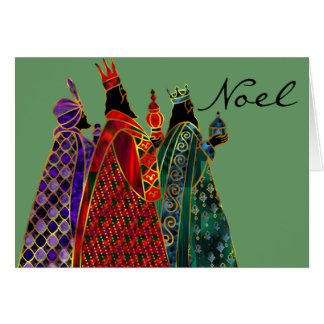 Wise Men Holiday Greeting Card