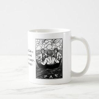 Wise Men of Gotham Nursery Rhyme Coffee Mug