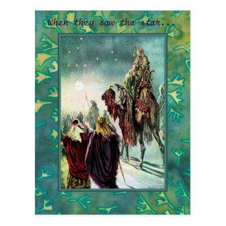 Wise Men Postcard