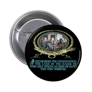 Wise Men Raised up by God for this Purpose 2 Inch Round Button