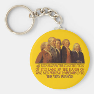 Wise Men Raised up by God for this Purpose Keychain