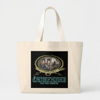 Wise Men Raised up by God for this Purpose Large Tote Bag