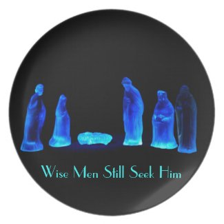 Wise Men Seek Him Dinner Plate