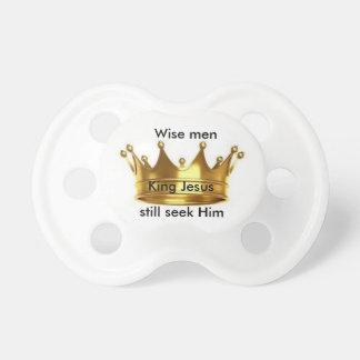 Wise men still seek Him Baby pacifier