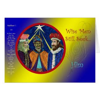 Wise Men Still Seek Him! Card