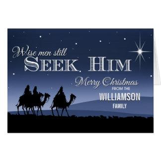 Wise Men Still Seek Him | Christmas Card