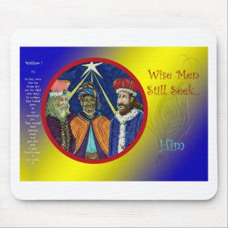 Wise Men Still Seek Him! Mouse Pad
