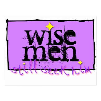 Wise men still seek him. postcard