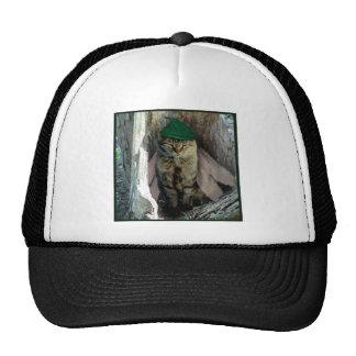 Wise Old Cat Elf Ballpark Cap Trucker Hat