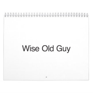 Wise Old Guy.ai Calendar