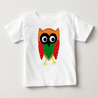 Wise Old Owl Baby Shirt