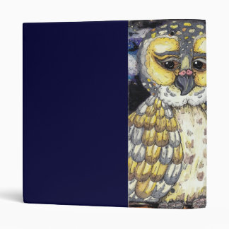 Wise Old Owl Binder