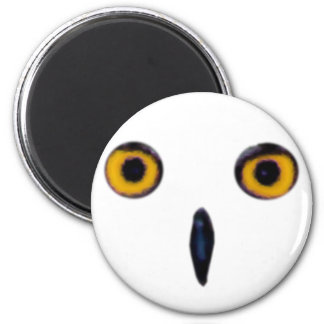 Wise Old Owl Eyes 2 Inch Round Magnet