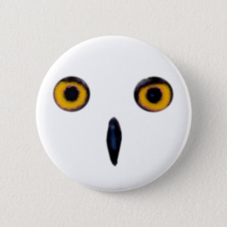 Wise Old Owl Eyes Pinback Button