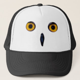 Wise Old Owl Eyes Trucker Hat