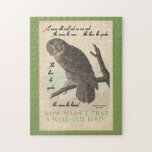Wise Old Owl Jigsaw Puzzle