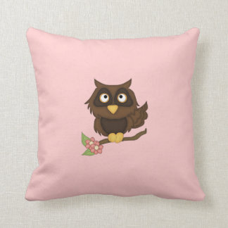 Wise Old Owl-Kids Pillow