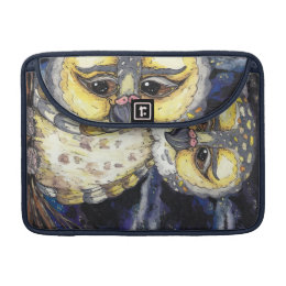 Wise Old Owl Mac Book Pro Sleeve. Sleeve For MacBook Pro