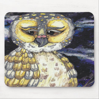 Wise Old Owl Mousepad