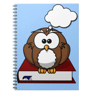 Wise Old Owl Notebook