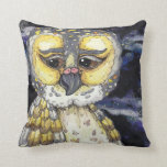 Wise Old Owl Pillow