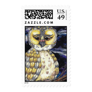 Wise Old Owl Postage