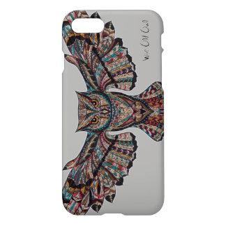 Wise Old Owl Spirit Animal Decorative Art iPhone 7 Case