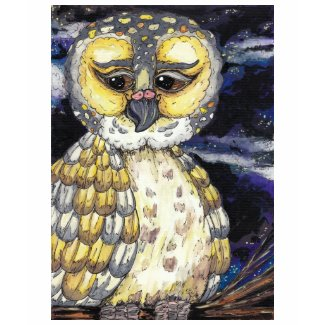 Wise Old Owl T-Shirt shirt