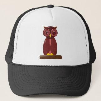 Wise Old Owl Trucker Hat