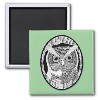 Wise Ole Owl Magnet