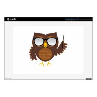 """Wise Owl 15"""" Laptop Skin"""