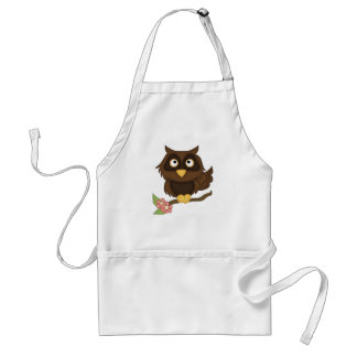 Wise Owl Adult Apron