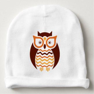 Wise Owl Baby Beanie
