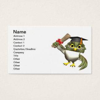 Wise Owl Business Card