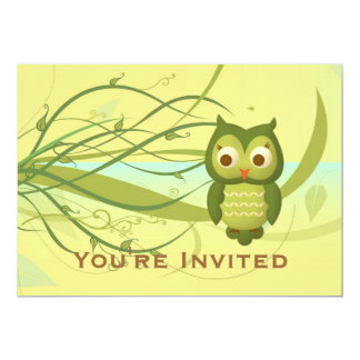 Wise Owl Card