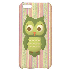 Wise Owl Case For iPhone 5C