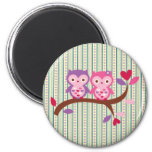 Wise Owl Fridge Magnets