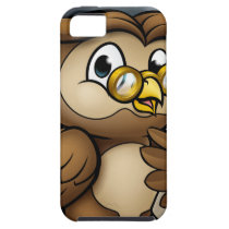 Wise Owl Graduate Character iPhone SE/5/5s Case