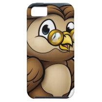Wise Owl Graduate Teacher Character iPhone SE/5/5s Case