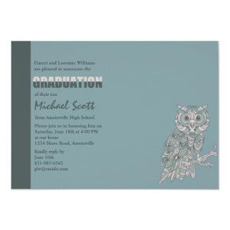 Wise Owl Graduation Invitation